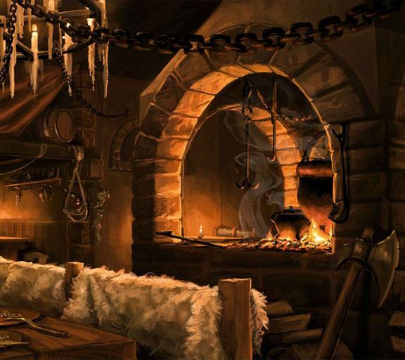 Средневековая таверна